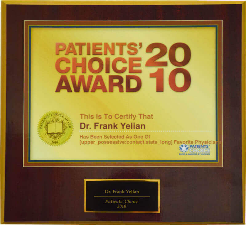 Patients' Choice Award 2010