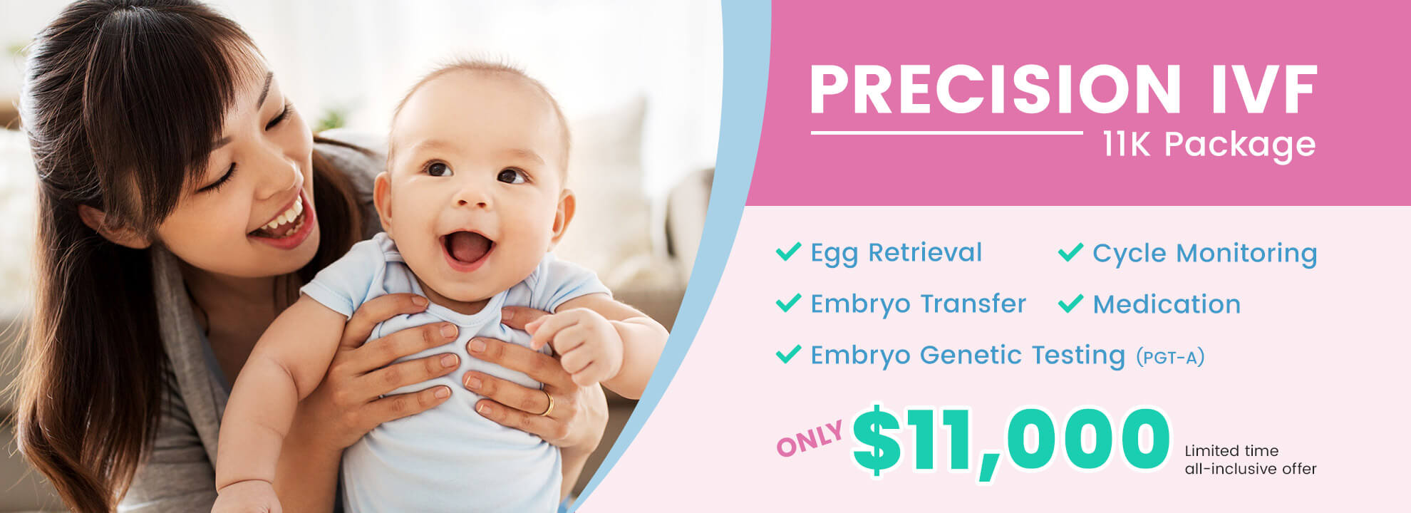 PRECISION IVF 11K Package